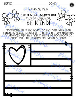 Writer's Notebook Ideas and Organization Kindness