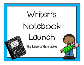 Writer's Notebook Launch