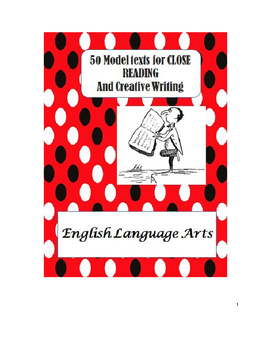 Writer's Notebook: Mentor texts