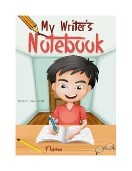 Writer's Notebook| Paragraph of the Week| 300 Page Bundle for the Entire Year!