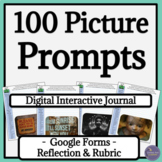 Writer's Notebook Digital Interactive Writing Prompts