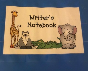 Writer's Notebook Resources