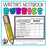 Writer's Notebook Rubrics