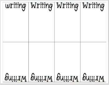 Writer's Notebook Tabs