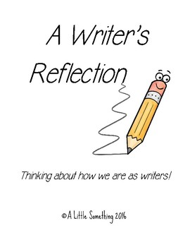 Writer's Reflection