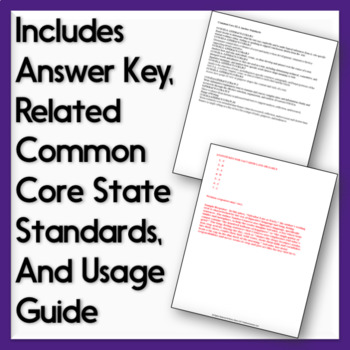 Writer's Style Quizzes: Text-Based Assessments
