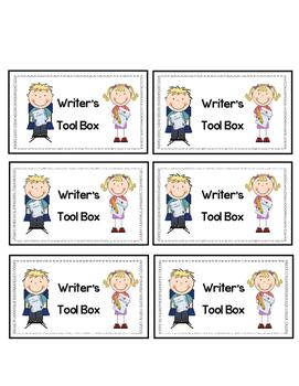 Writer's Tool Box Label
