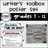 Writer's Toolbox Poster Set!