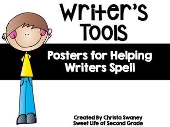 Writer's Tools: Posters for Helping Writer's Spell