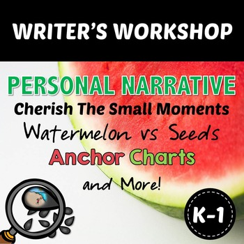 Writer's Workshop - PERSONAL NARRATIVE - Writing About Sma