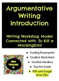 Writer's Workshop: Argumentative Writing