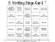 Writer's Workshop Bingo Card