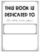 Writer's Workshop Book Template