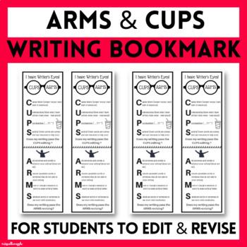 Writer's Workshop Bookmarks (editing/revising/writer's eyes)