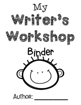 Writer's Workshop Boy Binder Cover