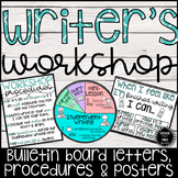 Writer's Workshop Bulletin Board Letters & Posters
