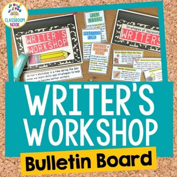 Writer's Workshop Bulletin Board Set