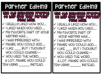 Writer's Workshop Centers