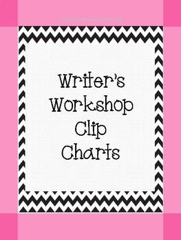 Writer's Workshop Clip Chart