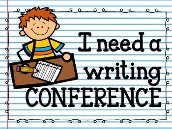 Writer's Workshop Conference Clip Chart