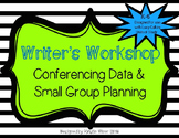 Writer's Workshop Conferencing and Small Group Planning-al