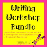 Writer's Workshop Curriculum --Bundled Units of Study