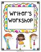 Writer's Workshop Data Binder