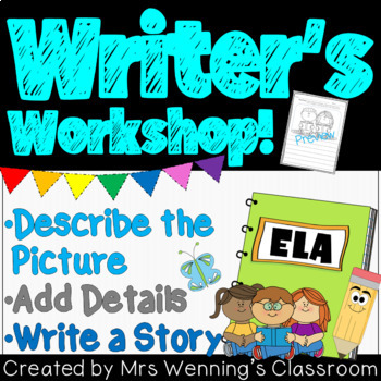 Writer's Workshop - Describe the Picture - Differentiated!