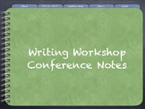 Writer's Workshop Digital Conference Notes