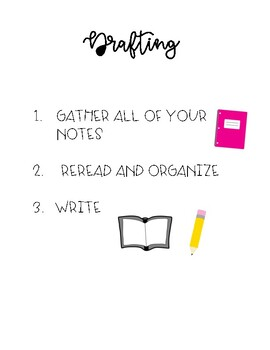 Writer's Workshop Drafting