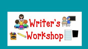Writer's Workshop Editable