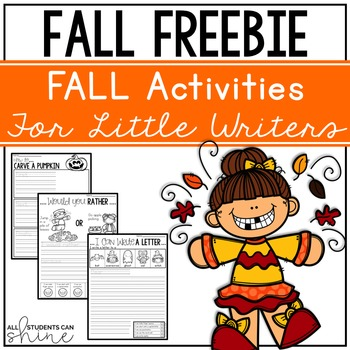 Fall Activities for Writer's Workshop - Fall FREEBIE