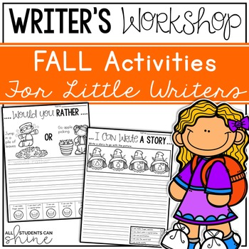 Fall Activities for Writer's Workshop