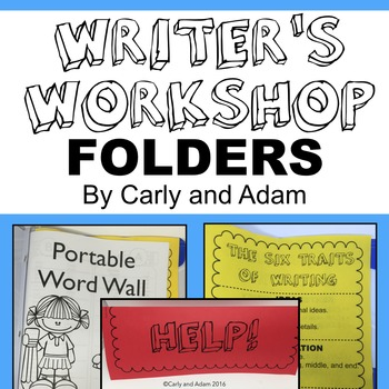 Writer's Workshop Folder NO PREP