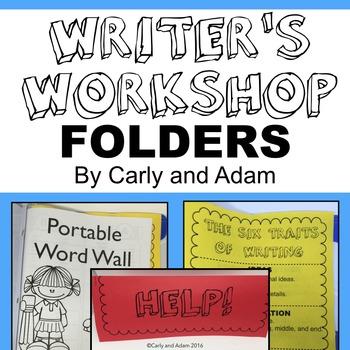 Writer's Workshop Folder NO PREP