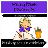Writer's Workshop Folder Resources