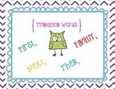 Writer's Workshop Folder - Transition Words