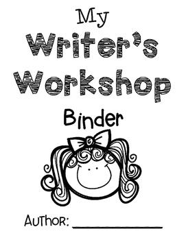 Writer's Workshop Girl Binder Cover