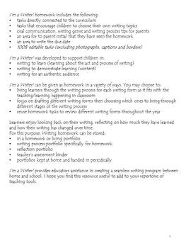 First - Third Grade ELA Homework: WITH PARENT TIPS – EDITABLE - FULL YEAR