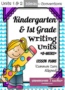 Writer's Workshop - Kg. & 1st Gr. Bundle (Conventions & Ideas)