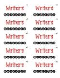 Writer's Workshop Labels
