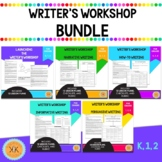 Writer's Workshop Bundle - Kindergarten, 1, 2