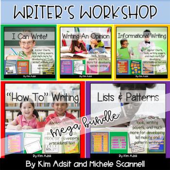 Writer's Workshop Mega Bundle by Kim Adsit