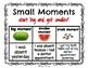 Writer's Workshop Mini Anchor Charts