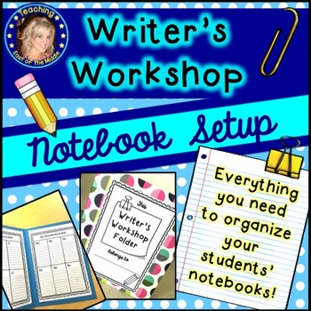 Writer's Workshop Notebook Setup