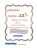 Writer's Workshop: Operation Author 4, Starting and Stopping