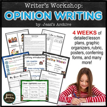 Writer's Workshop: Opinion Writing