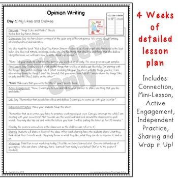 Writer's Workshop: Opinion Writing