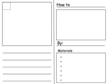 Writer's Workshop Pages