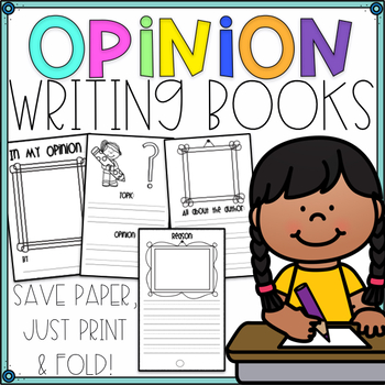 Writer's Workshop Paper Opinion Booklet